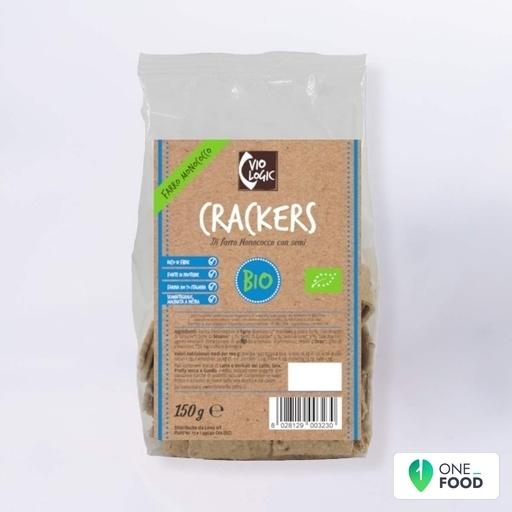 Crackers Di Farro Monococco Con Semi 1 X 150 G